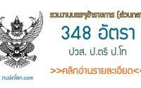 งานราชการเปิดสอบบรรจุ 2563