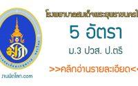 โรงพยาบาลสมเด็จพระยุพราชนครไทย สมัครงาน 2563